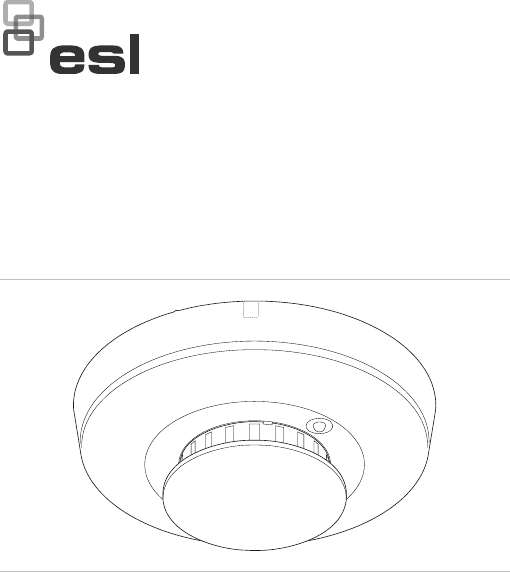 InterLogix 1036525 En Rev F Esl 500N Series Smoke Detector