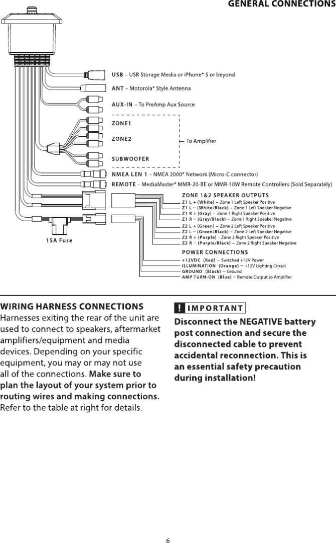 jl audio mm50 marine audio controller user manual