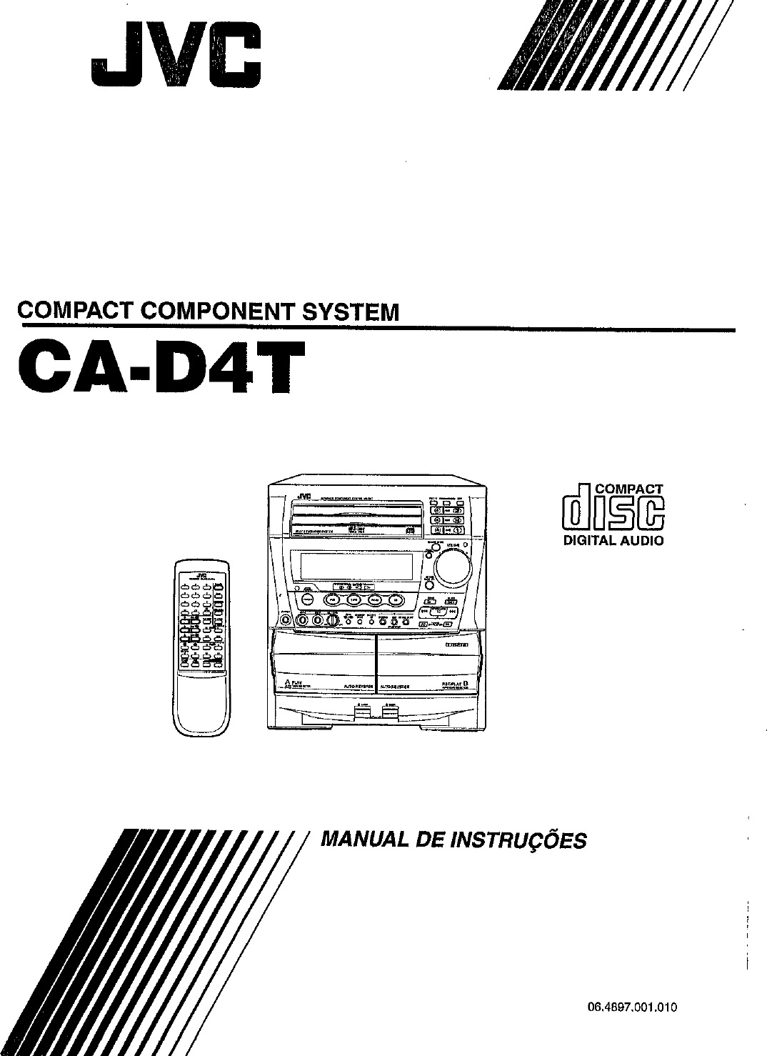 JVC CA D4T User Manual INST
