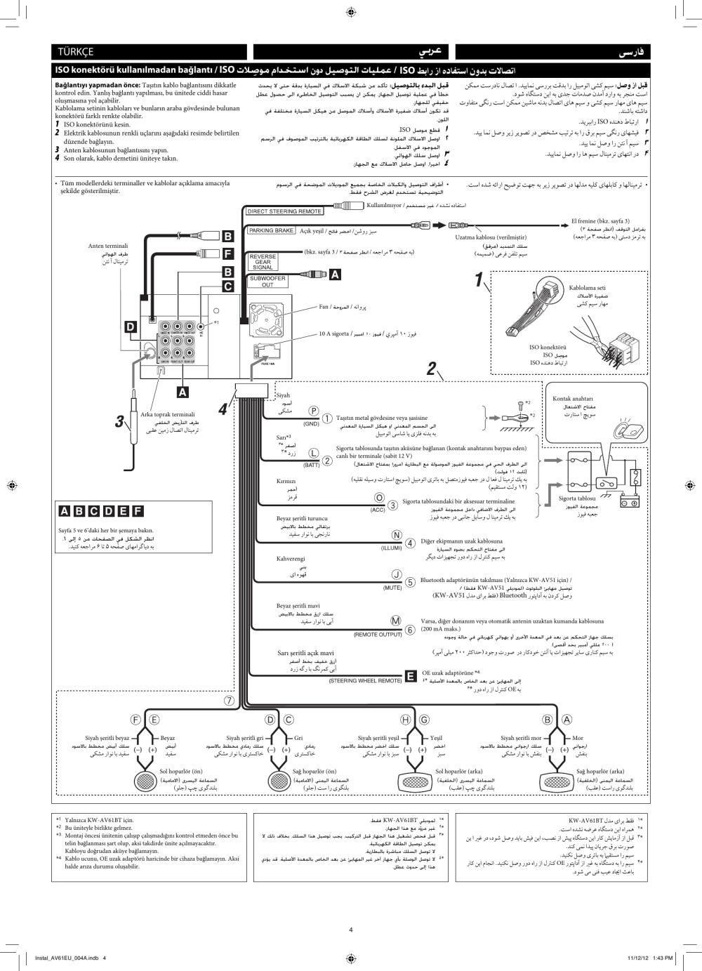 medium resolution of page 4 of 6 jvc kw av51eu kw av61bt kw av51