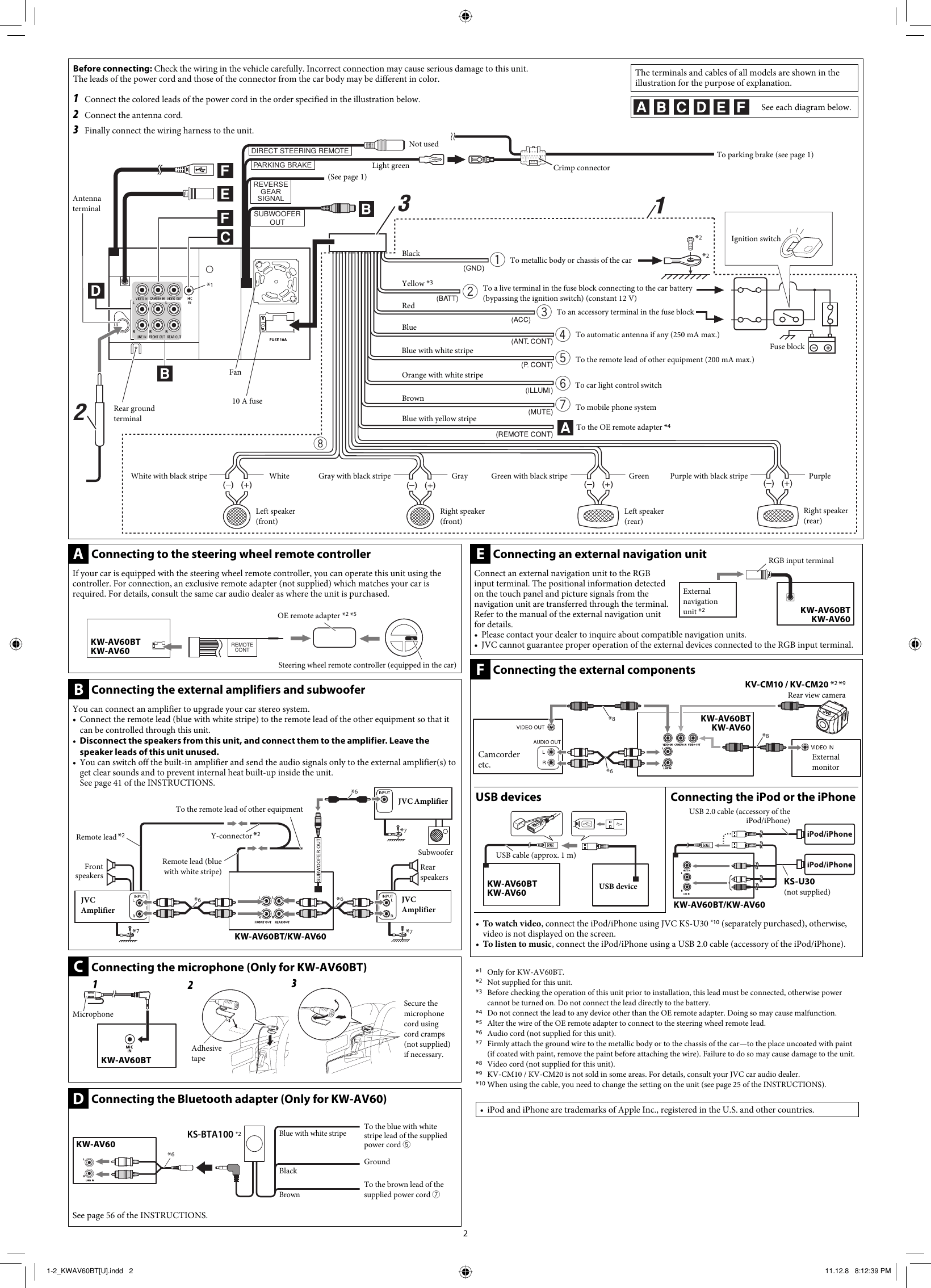 Jvc Xr610 Manual Auto Electrical Wiring Diagram 97 Toyota Power Antenna Kw Av60bt Powerboss Tss 82 Diagrams