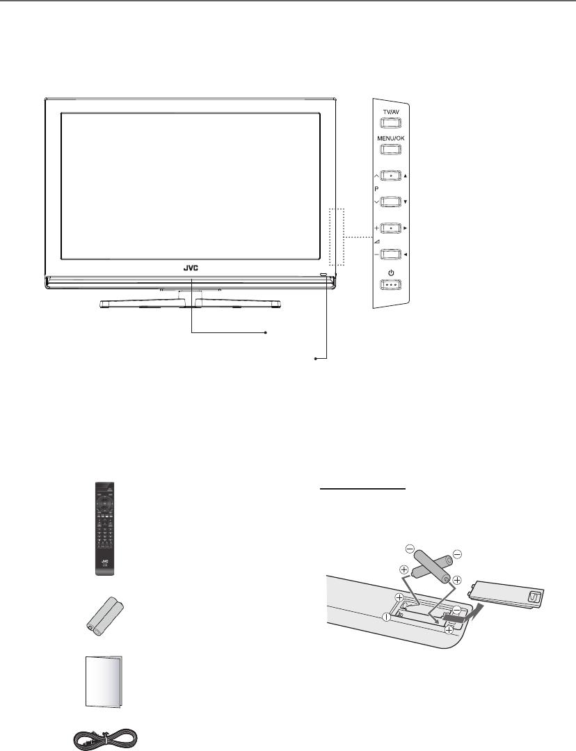 JVC LT 26DC1BH 26DC1BH/LT 32DC1BH User Manual 26DC1BH