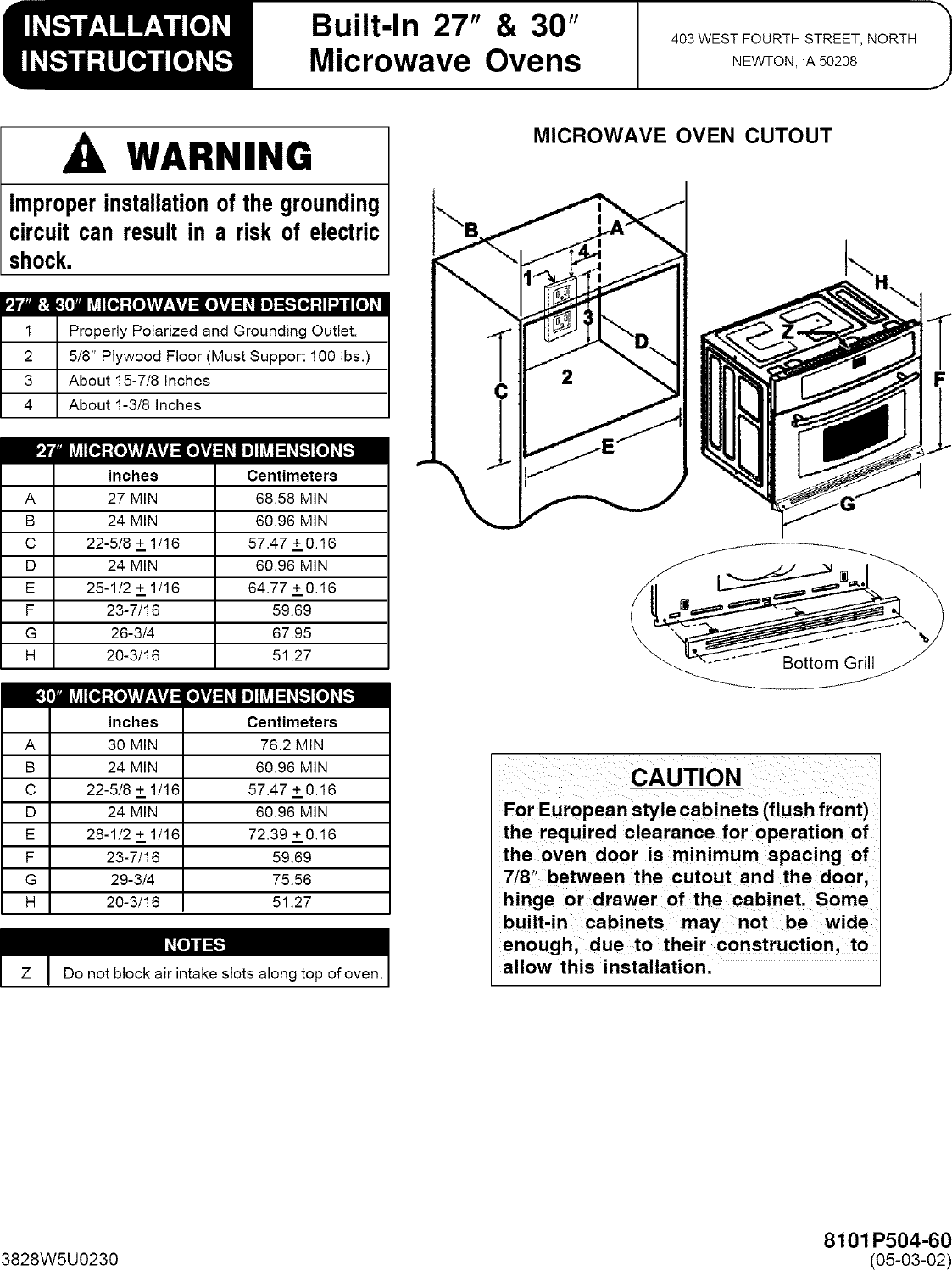 Jenn Air JMC8130DDB User Manual COOKING Manuals And Guides