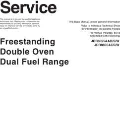 jenn air double wall oven wiring diagram [ 1071 x 1487 Pixel ]
