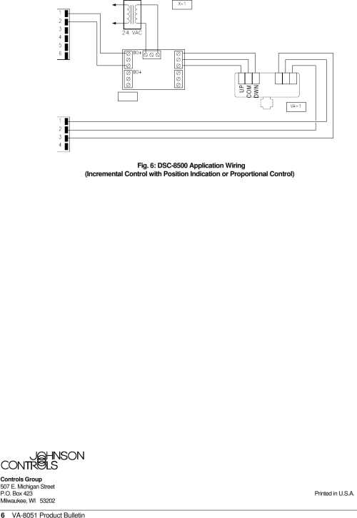 small resolution of page 6 of 6 johnson controls johnson controls va 8051
