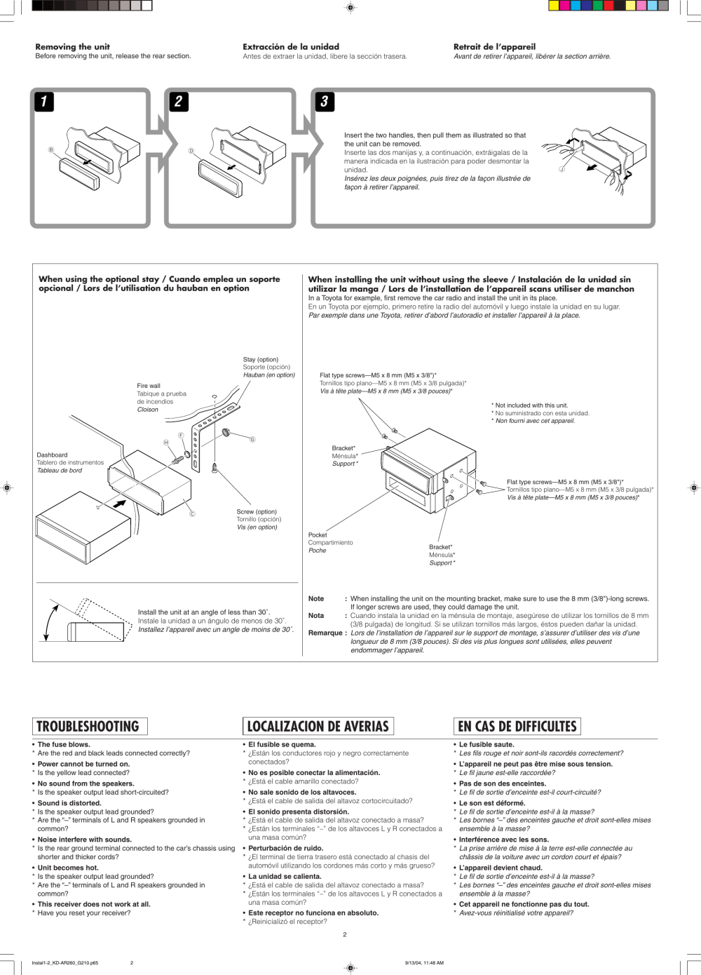 medium resolution of page 2 of 4 jvc jvc kd g210 installation manual