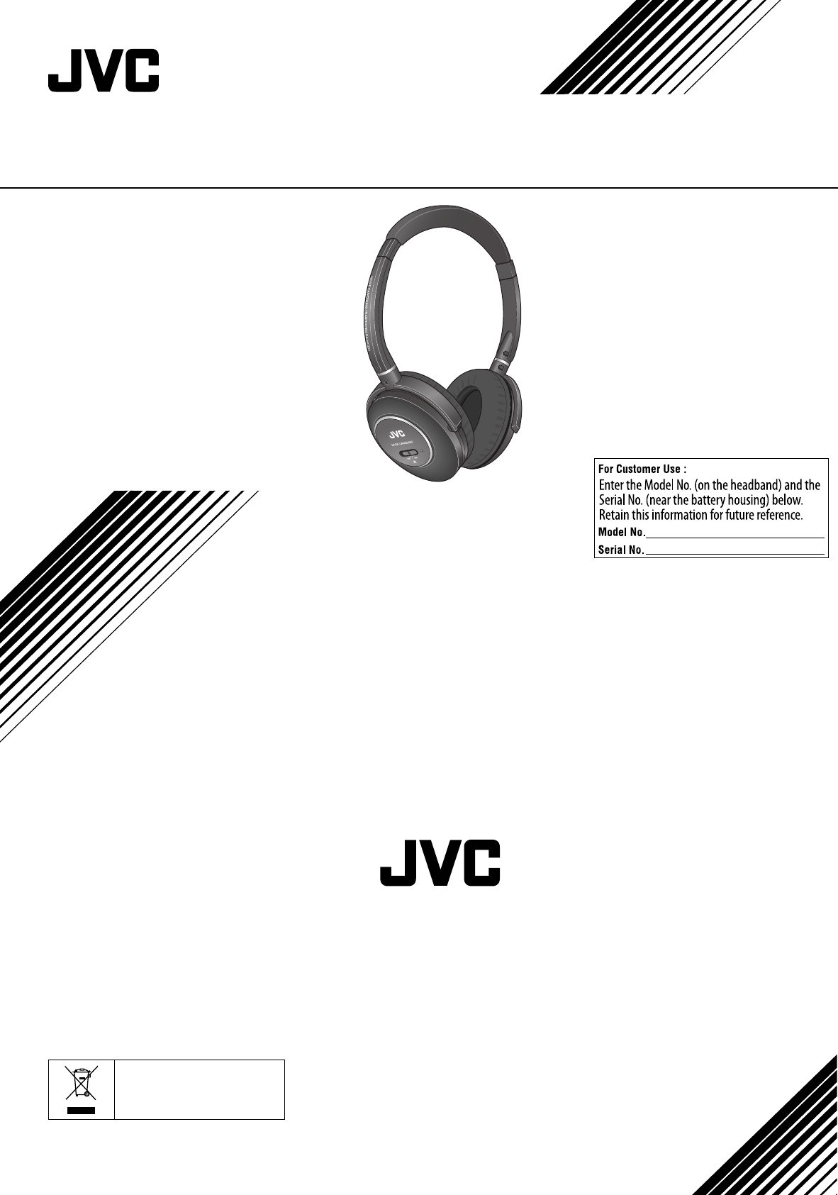 Jvc Noise Canceling Headphones Hanc250 Users Manual HA