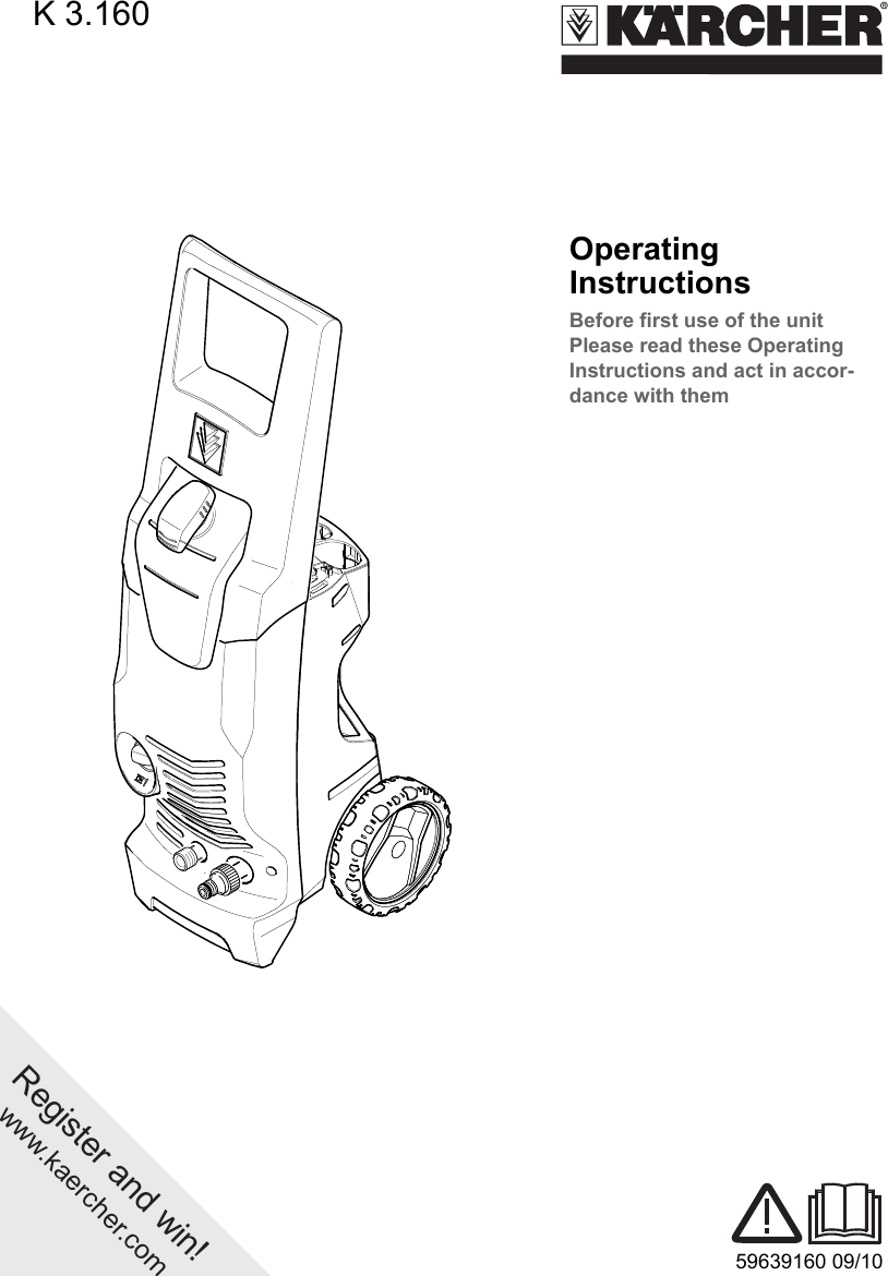 Karcher K 3 160 Users Manual 3.160 AUS
