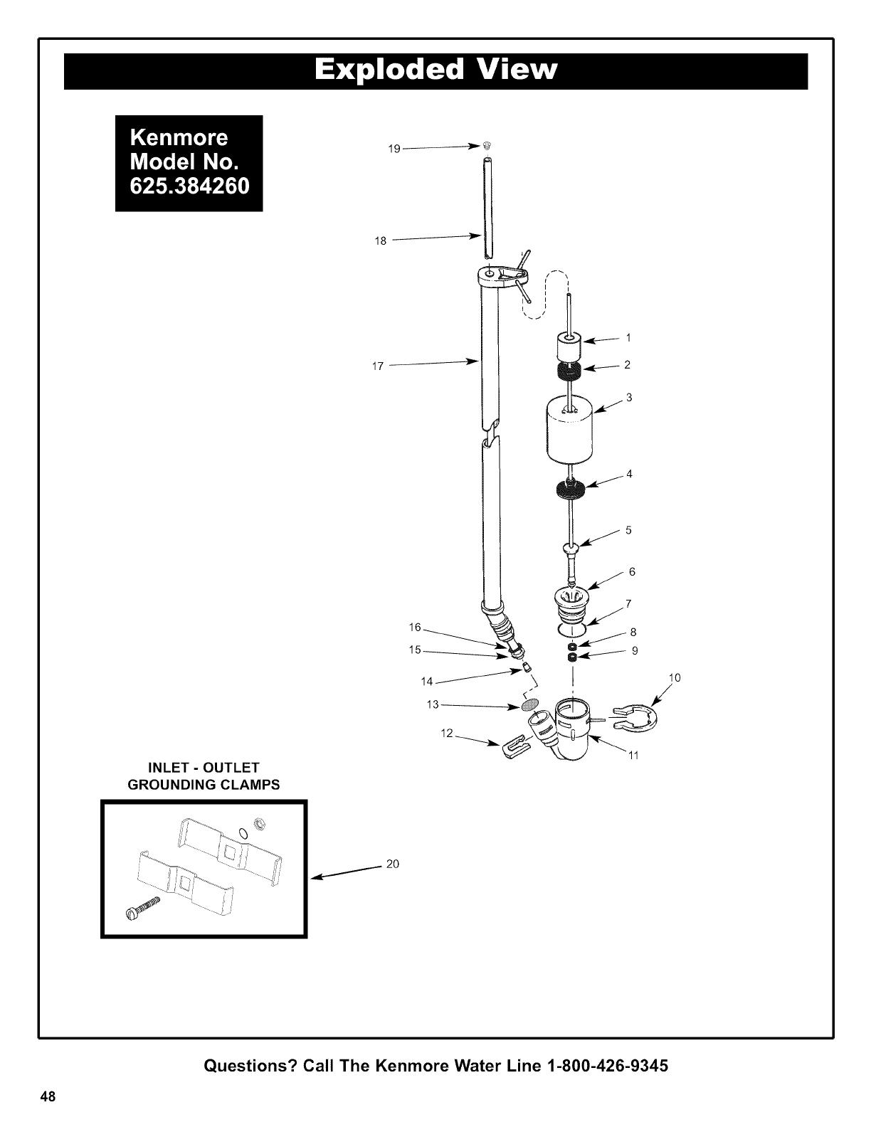 Kenmore Elite 625384260 User Manual WATER SOFTENER Manuals