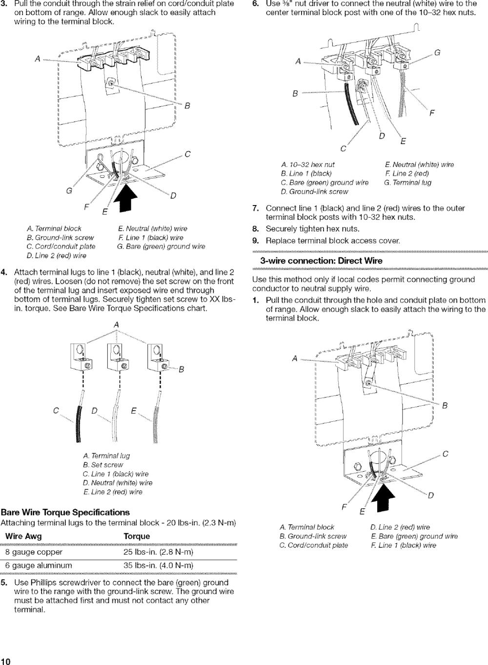 medium resolution of page 10 of 12 kenmore elite 66598002700 user manual free standing electric range manuals