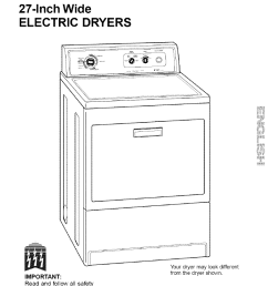 kenmore 11060902990 user manual electric dryer manuals and guides l0708185 [ 790 x 1220 Pixel ]