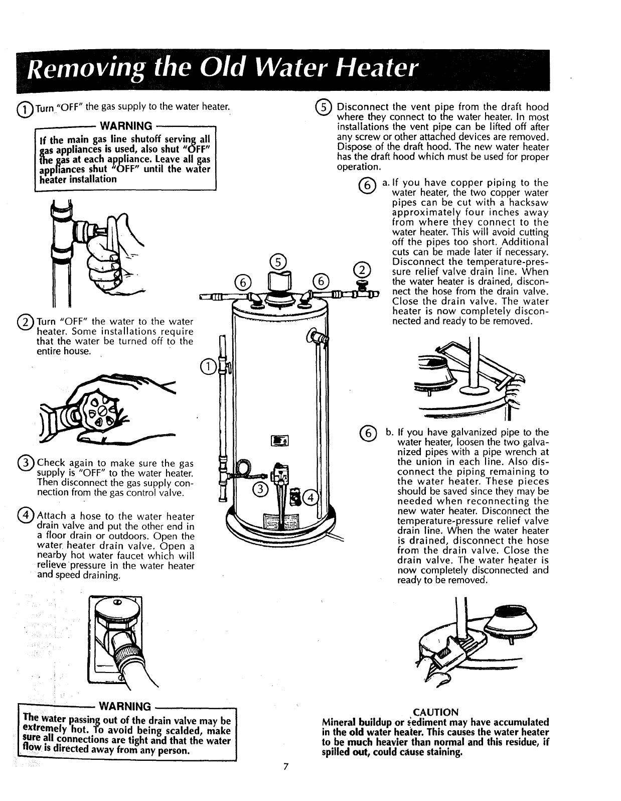 Kenmore 153335200 User Manual POWER MISER 8 GAS WATER