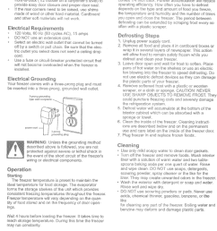 page 2 of 6 kenmore 56424702400 user manual freezer manuals and guides l0523064 [ 1052 x 1538 Pixel ]