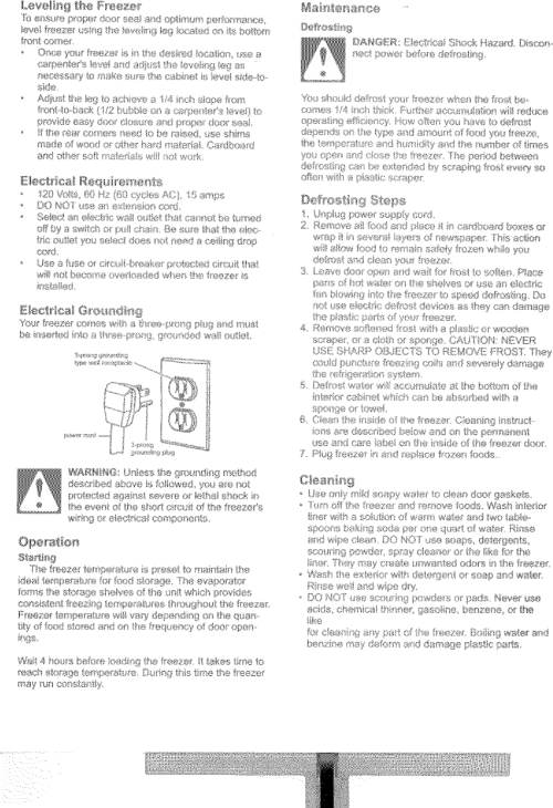 small resolution of page 2 of 6 kenmore 56424702400 user manual freezer manuals and guides l0523064