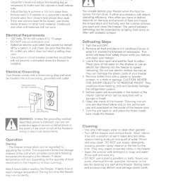 page 2 of 6 kenmore 56425502500 user manual freezer manuals and guides l0523065 [ 1182 x 1616 Pixel ]