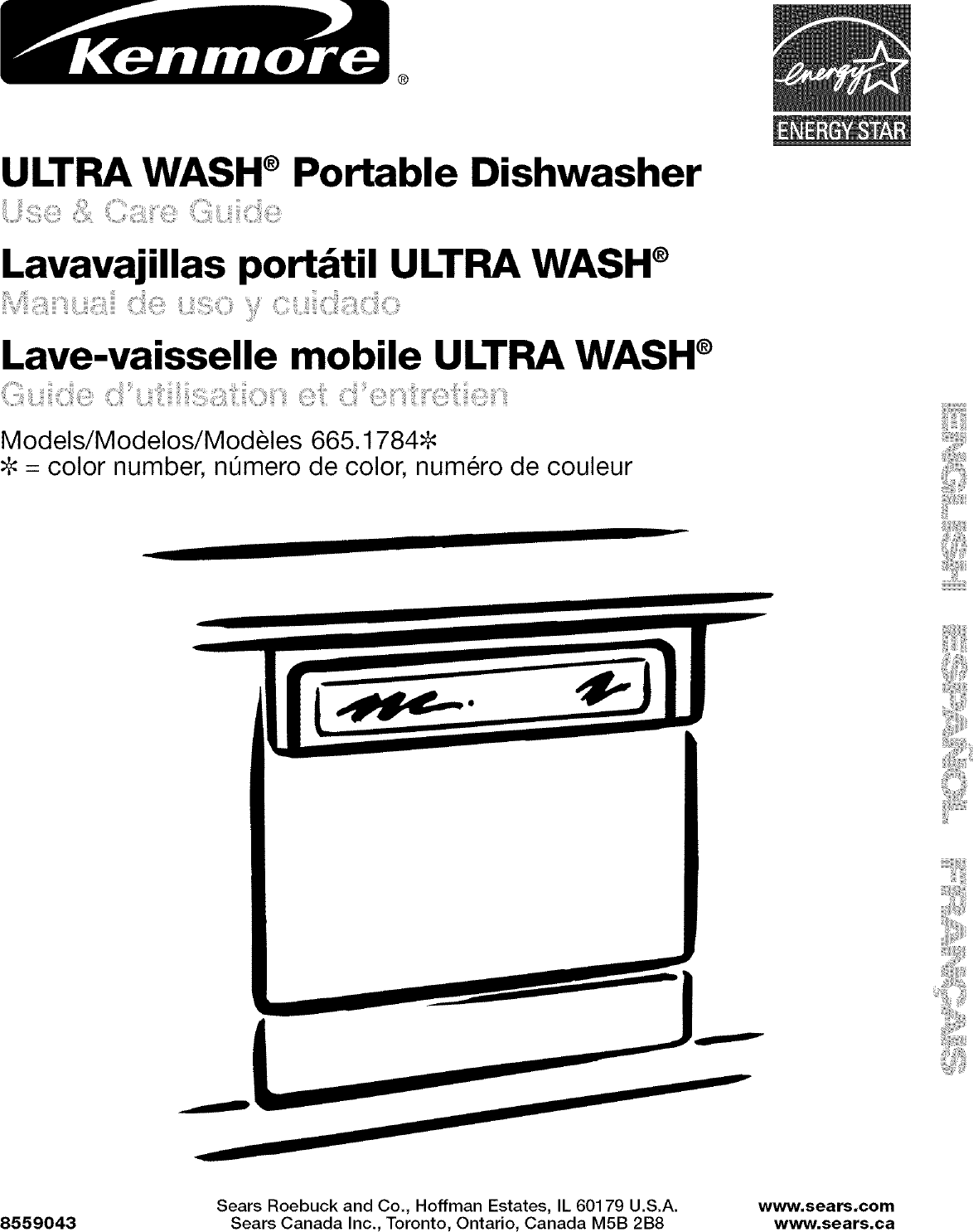Kenmore 66517842400 User Manual DISHWASHER Manuals And