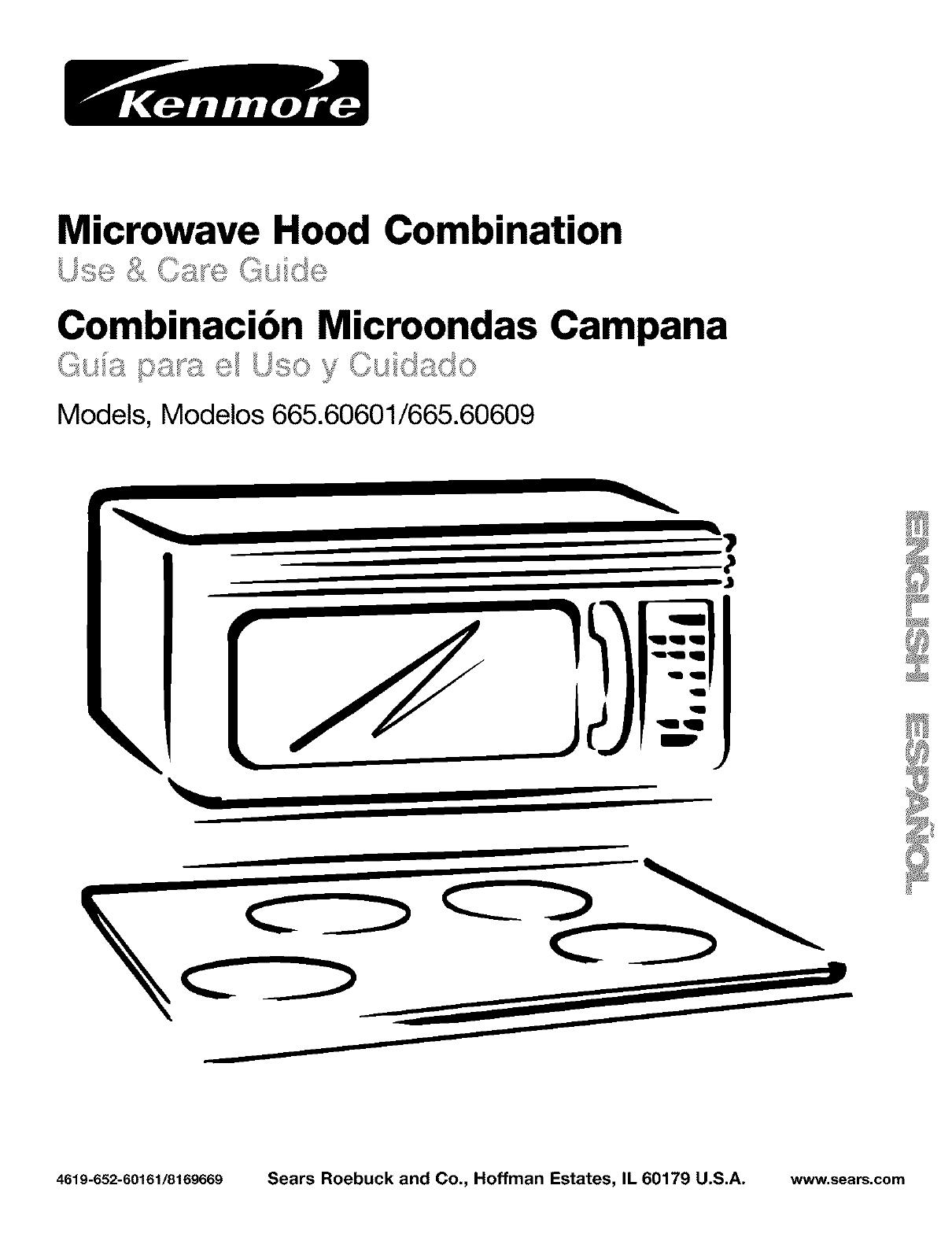 Kenmore Microwave Owners Manual