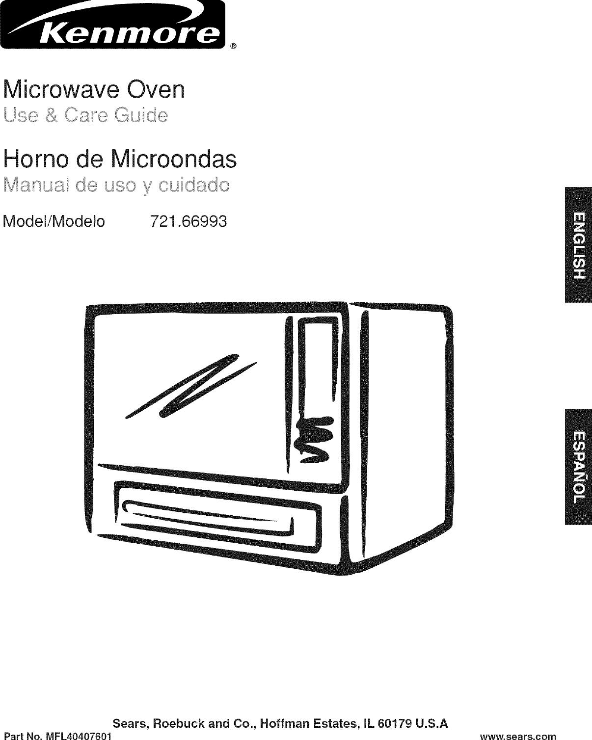 Kenmore Microwave Troubleshooting Manual