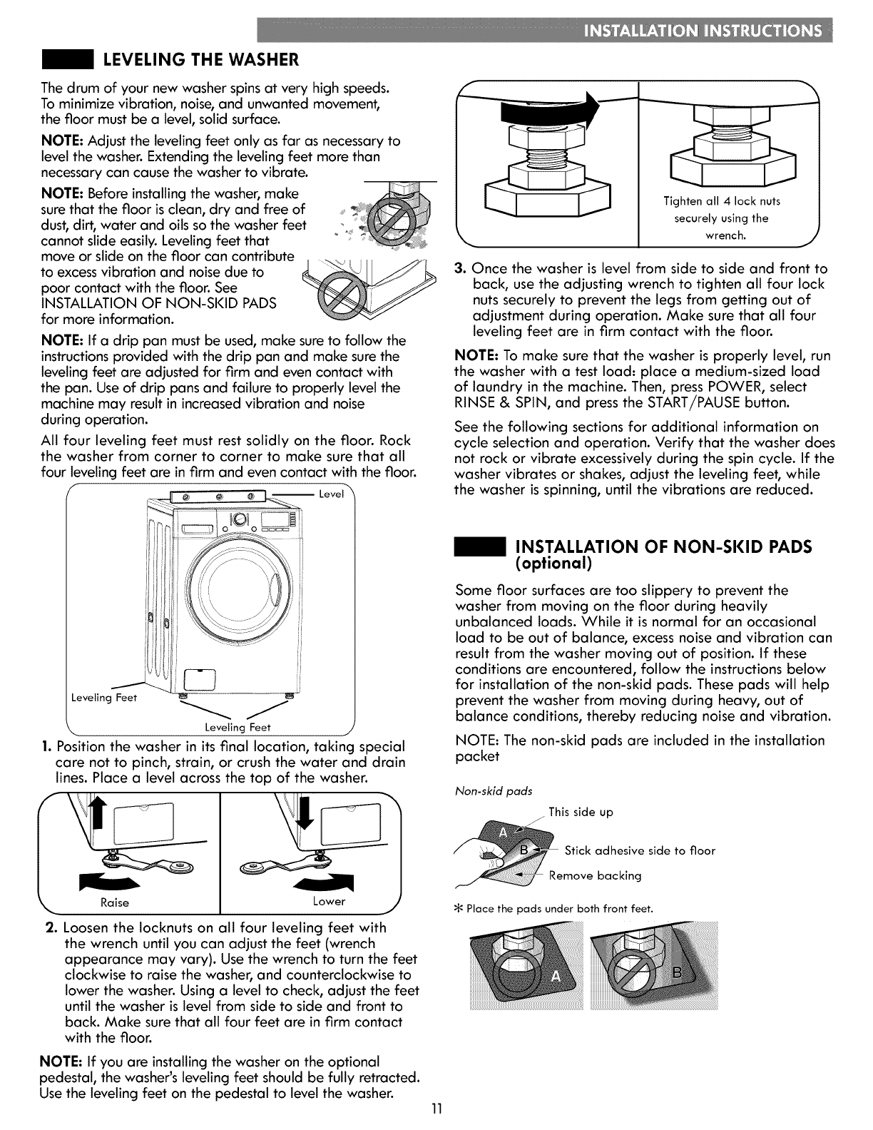 Kenmore 79641162410 User Manual WASHER Manuals And Guides