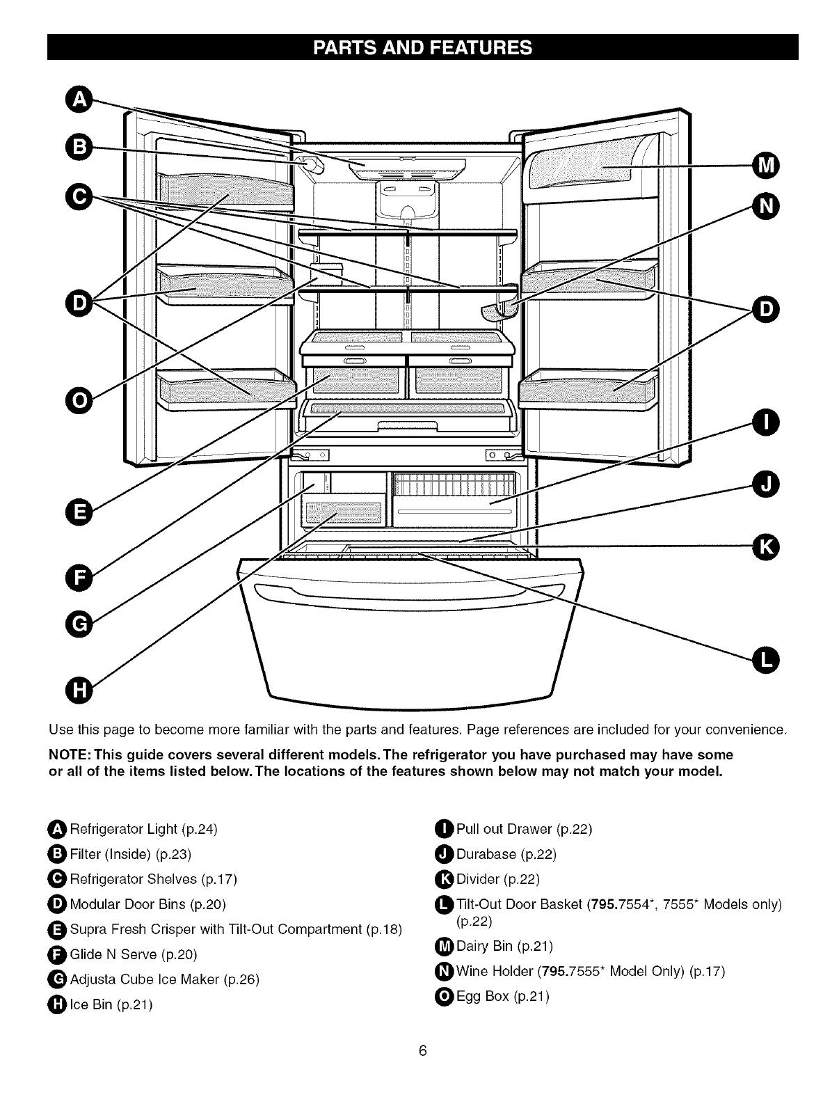 Kenmore 795 Users Manual