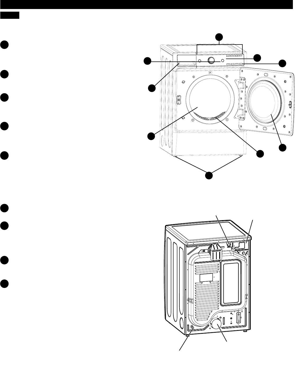 kenmore front load dryer manual