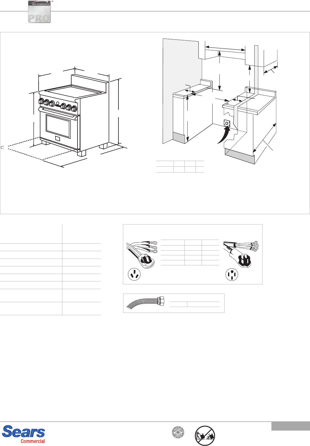 Kenmore Pro 30 Warming Drawer Installation Guide 22 79523