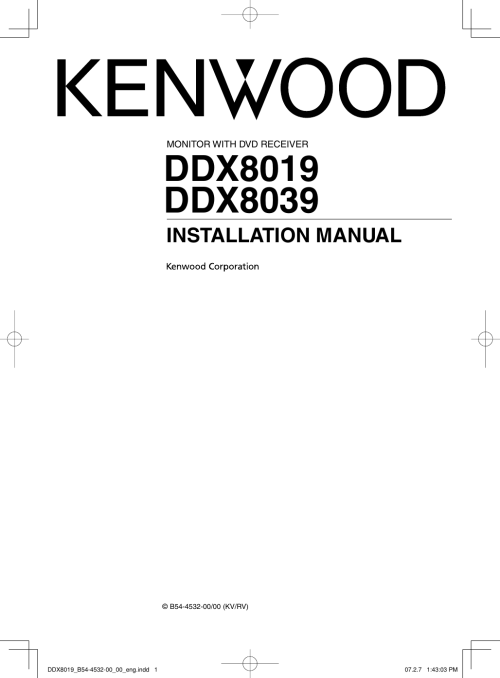 small resolution of page 1 of 12 kenwood kenwood excelon ddx8019 users manual