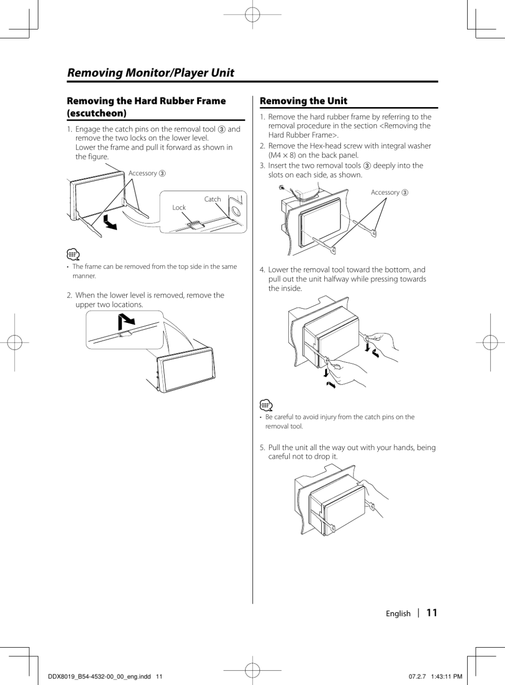 medium resolution of page 11 of 12 kenwood kenwood excelon ddx8019 users manual