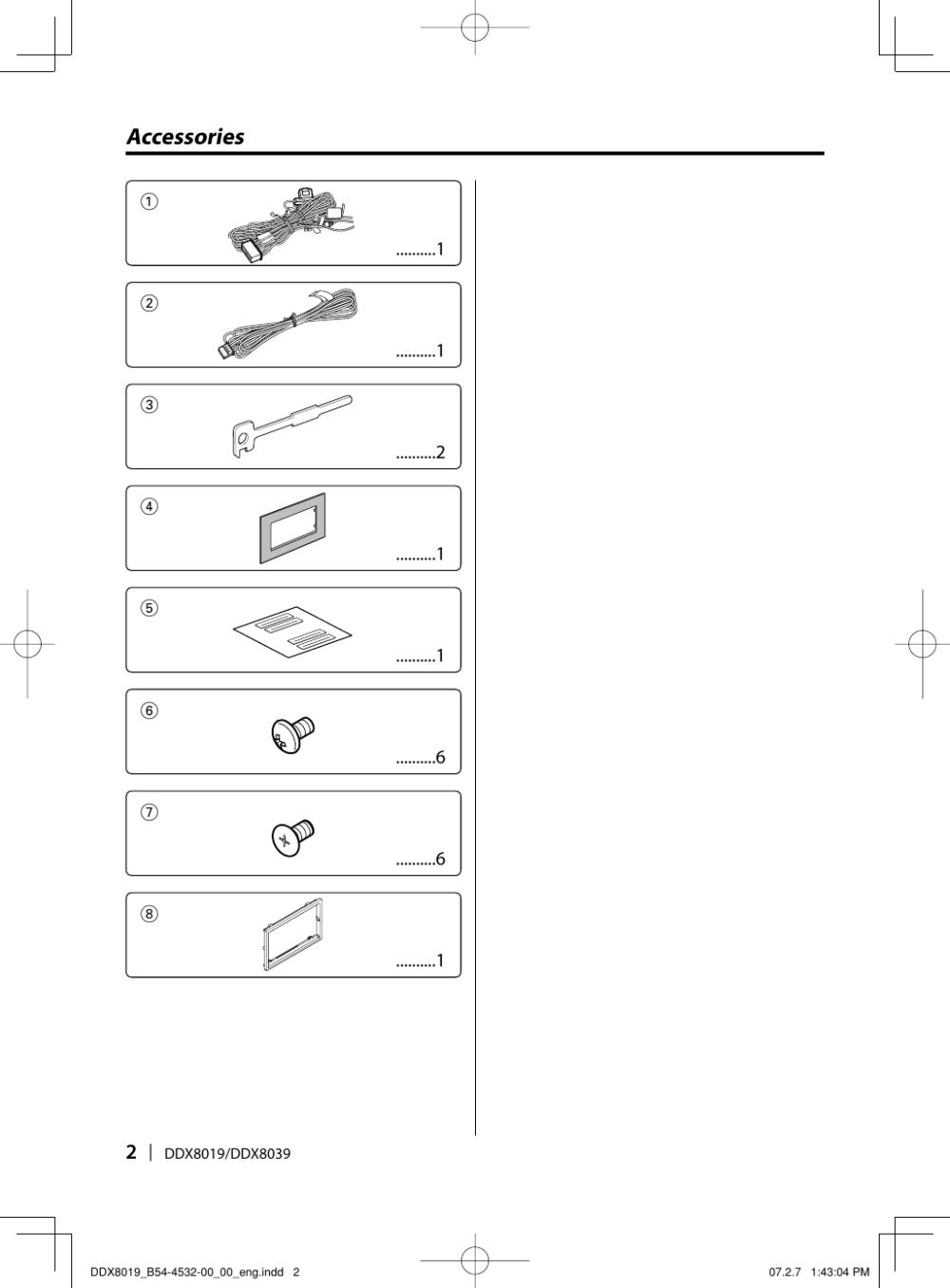 medium resolution of page 2 of 12 kenwood kenwood excelon ddx8019 users manual