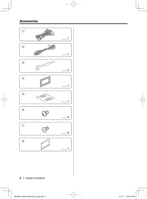 small resolution of page 2 of 12 kenwood kenwood excelon ddx8019 users manual