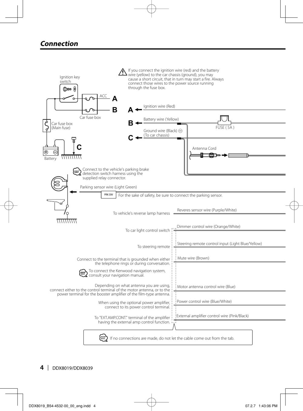 medium resolution of page 4 of 12 kenwood kenwood excelon ddx8019 users manual