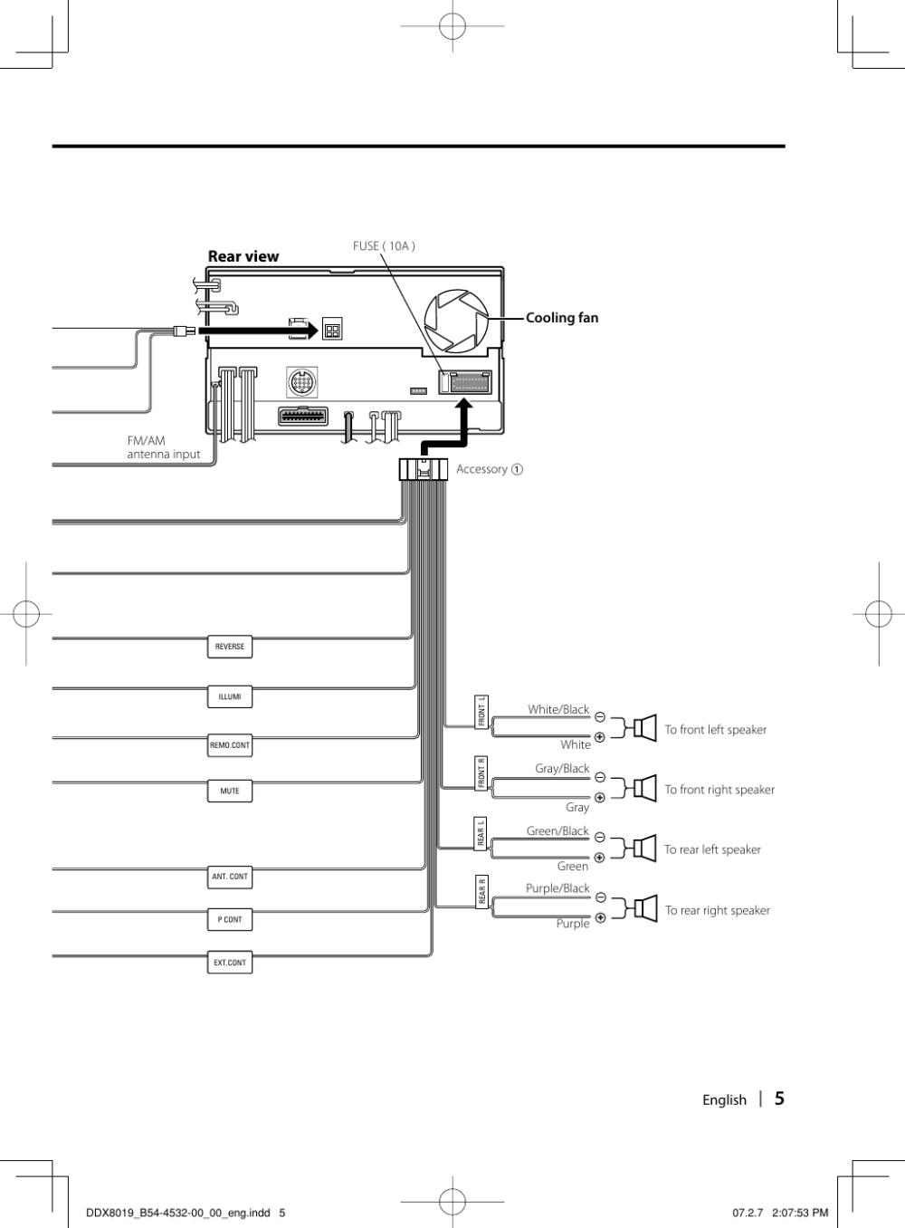 medium resolution of page 5 of 12 kenwood kenwood excelon ddx8019 users manual