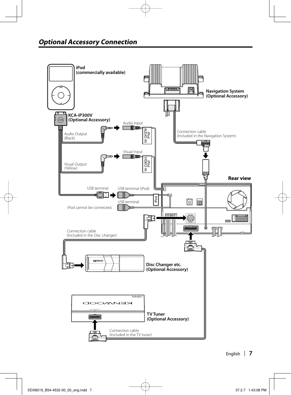 medium resolution of page 7 of 12 kenwood kenwood excelon ddx8019 users manual