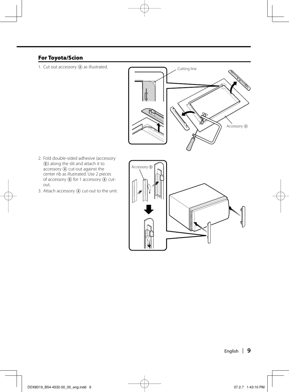 medium resolution of page 9 of 12 kenwood kenwood excelon ddx8019 users manual