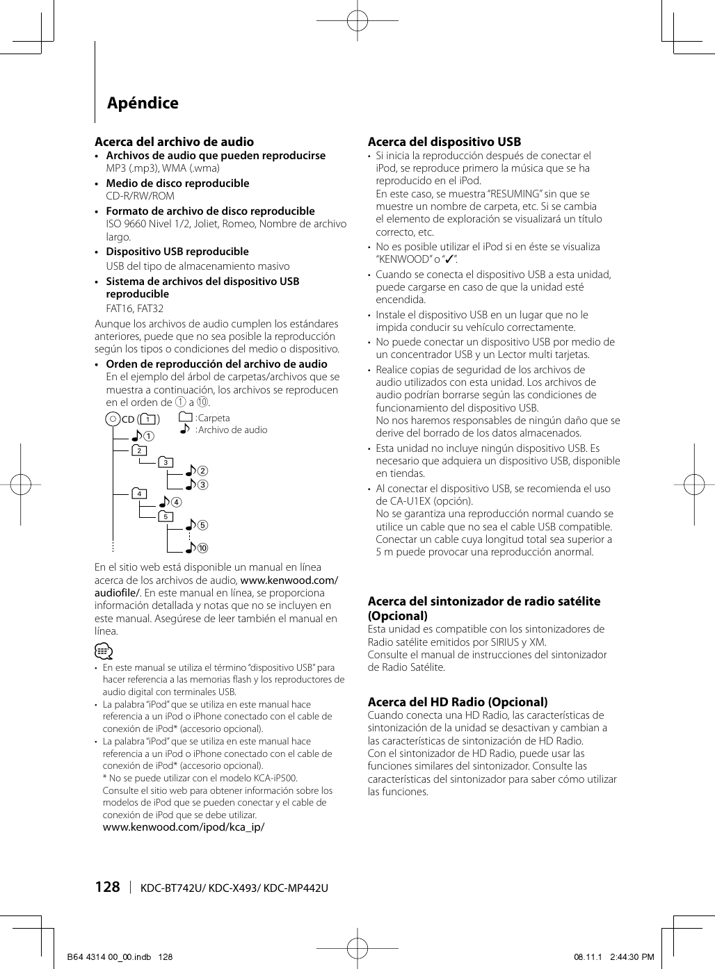hight resolution of kenwoodexcelonkdcx493usersmanual263232 373101021 user guide page 128 png