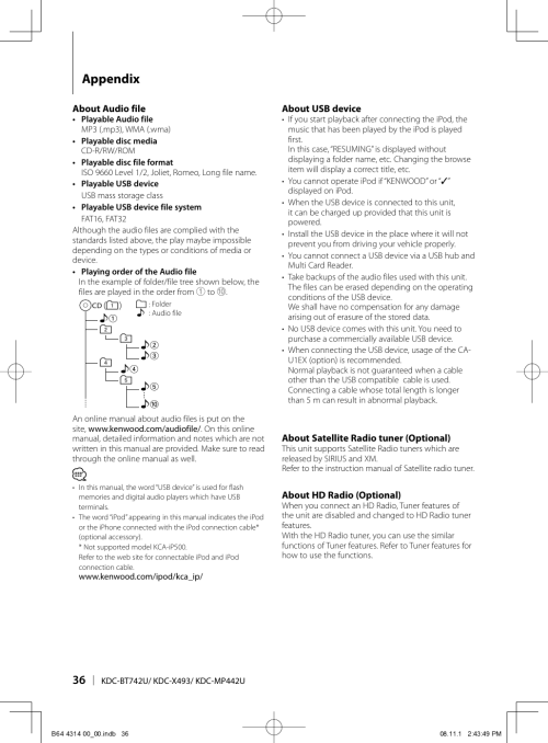 small resolution of kenwoodexcelonkdcx493usersmanual263232 373101021 user guide page 36 png