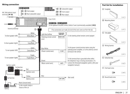 small resolution of kenwood kdc bt555u wiring diagram wiring diagrams konsultkenwood bt555u wiring harness diagram wiring diagram kenwood kdc
