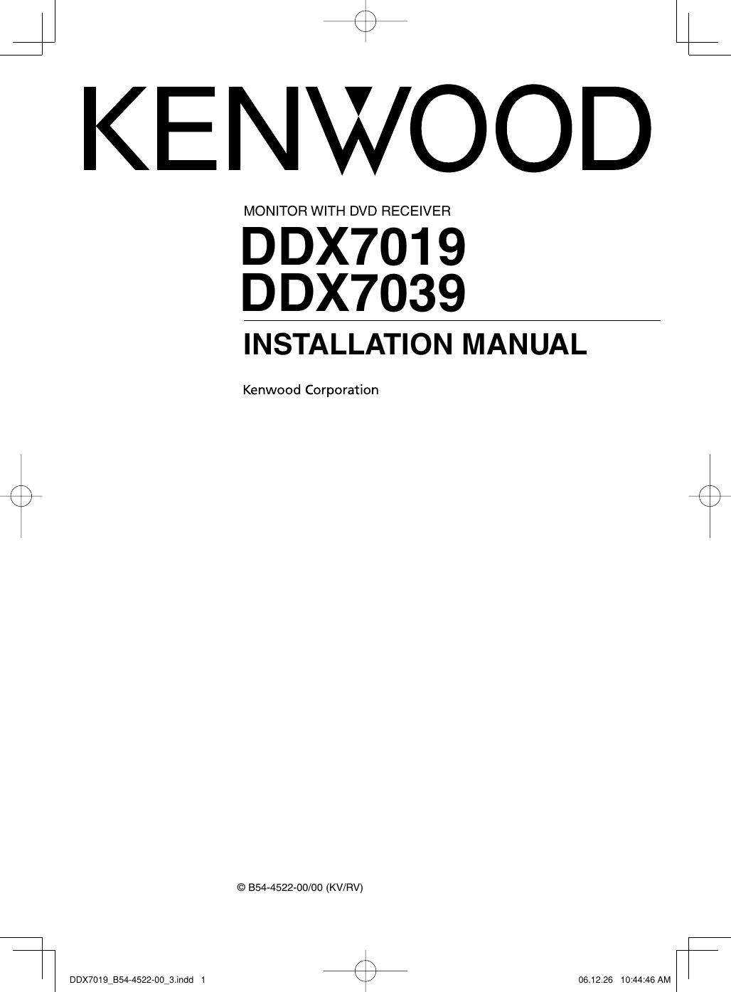 Kenwood DDX7019_B54 4522 00_3 If Not Then Manuals\DDX7019