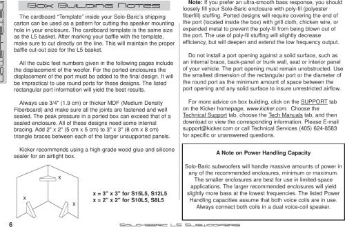 small resolution of page 6 of 12 kicker kicker 2005 solo baric l5