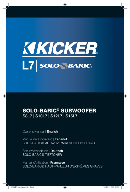 small resolution of kicker solo baric l7 15 wiring diagram kicker 2011 solo baric l7 owners manual multilingual
