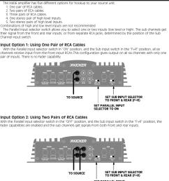 page 3 of 12 kicker kicker impulse six channel amplifier  [ 1125 x 1262 Pixel ]