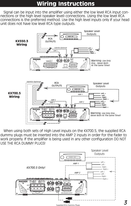 medium resolution of wiring diagram 5 channel 13 kicker schema diagram database wiring diagram 5 channel 13 kicker