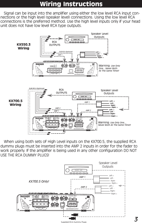 small resolution of wiring diagram 5 channel 13 kicker schema diagram database wiring diagram 5 channel 13 kicker