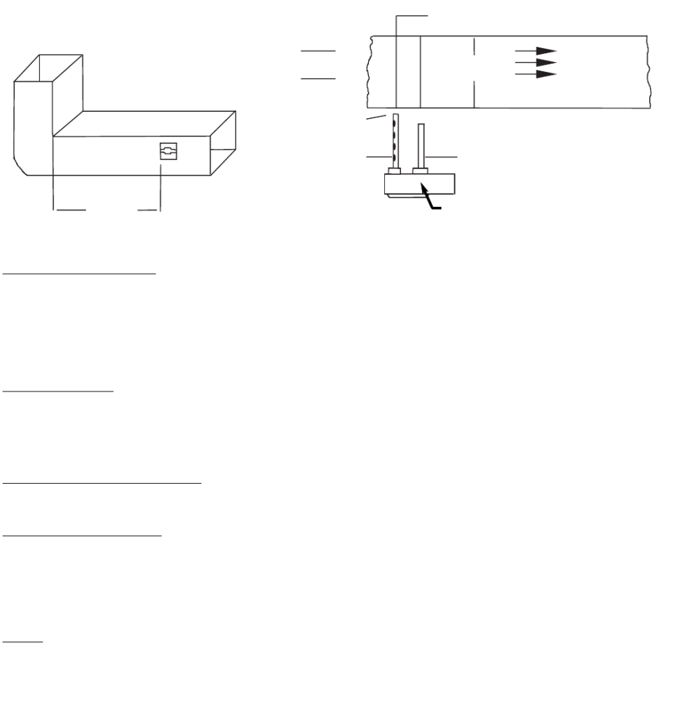medium resolution of in installations where it is impossible to adhere to the six duct width requirement units can be installed closer but as far from inlets bends or
