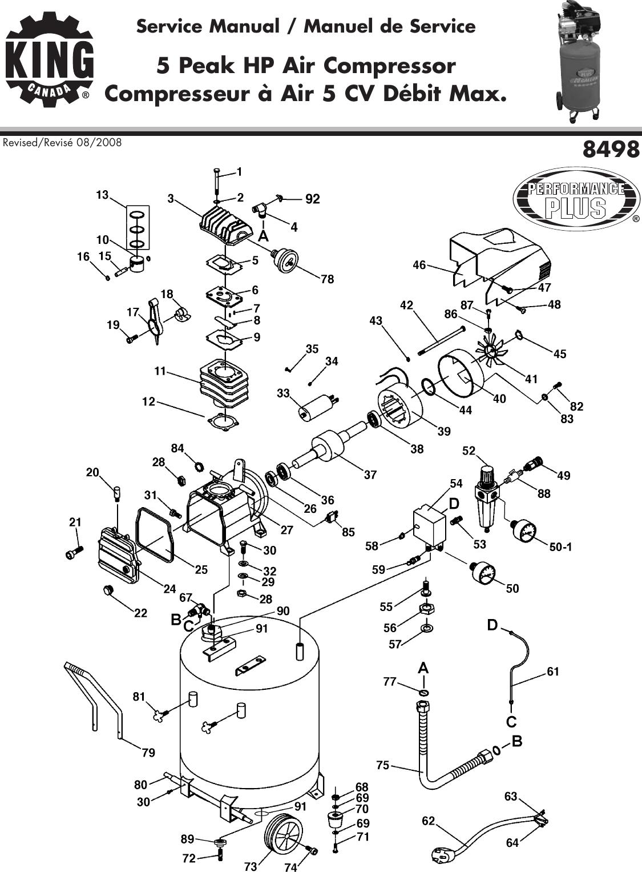 King Canada 8498 Users Manual