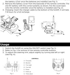 page 2 of 2 karctfrklfa remote control forklift user manual karctfrklfa qsg [ 1005 x 1287 Pixel ]