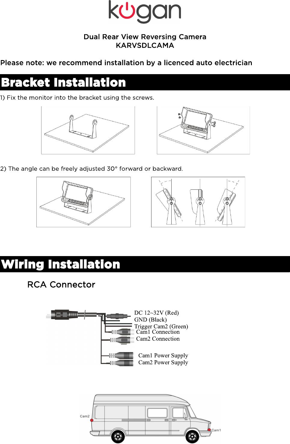 medium resolution of dual backup camera wiring diagram