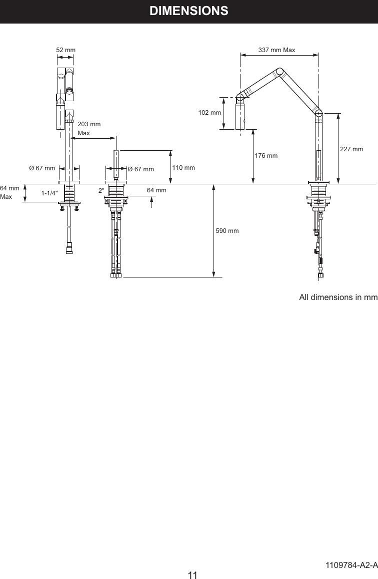 Kohler K 6227A Users Manual Installation Instructions