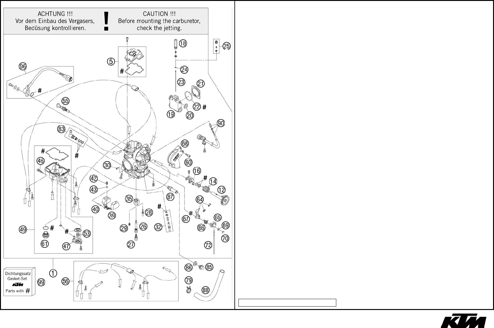 Ktm 525 Exc 2006 Users Manual 3CM089428EN_MOTOR_525_EXC_4T