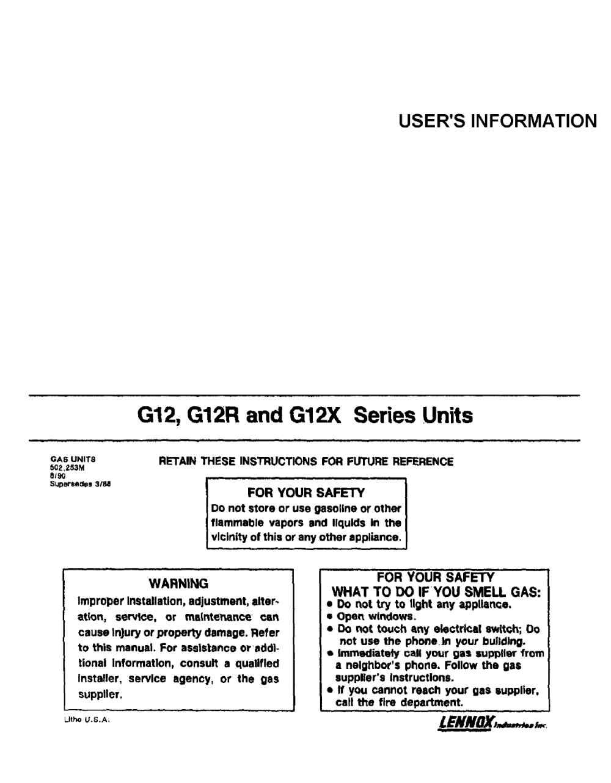 medium resolution of lennox g1203 82 3 furnace wiring diagram